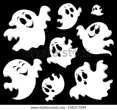 ghost theme image 1   vector