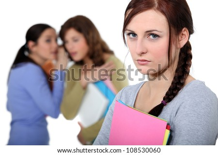 female victim of bullying