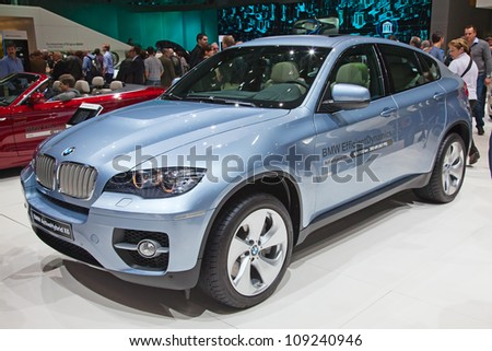 geneva   march 8  the bmw x6 on