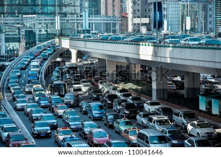 automobile congestion in the