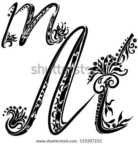 tattoo letter m designs letter m tattoo designs