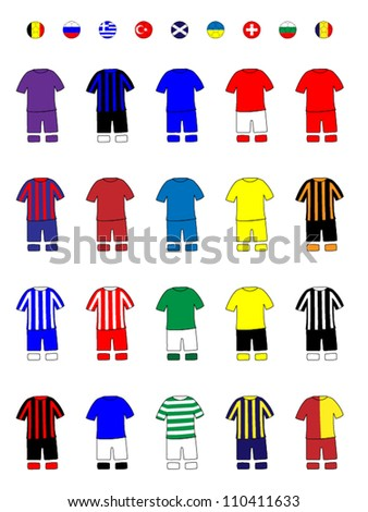 european clubs jerseys football