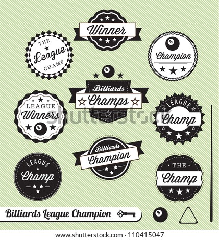 vector set  billiards league