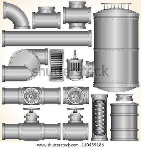 industrial pipeline parts pipe