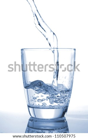 photo of pouring water and