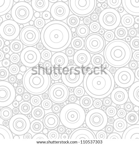pattern of gray circles