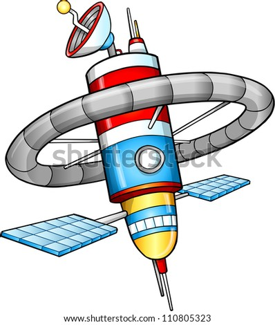 space station vector