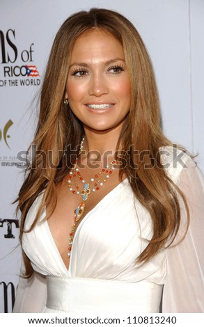 jennifer lopez at the los