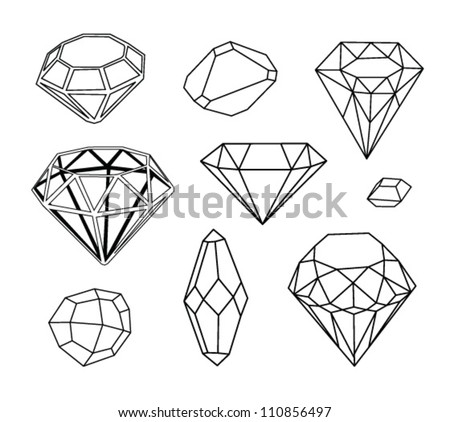 black and white diamonds