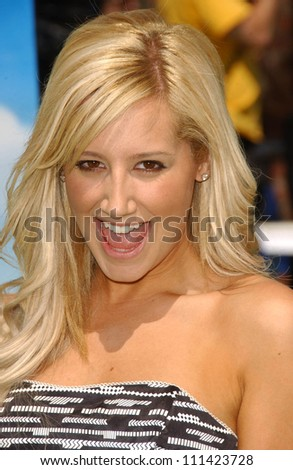 ashley tisdale at the los