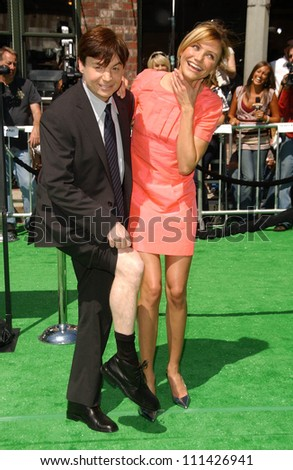 mike myers and cameron diaz at