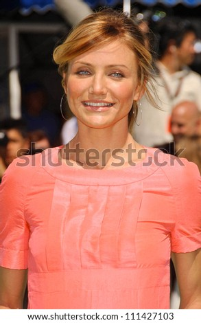 cameron diaz  at the los