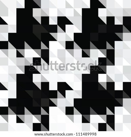 abstract pixels hounds tooth