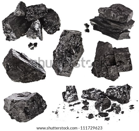 collection set black coal