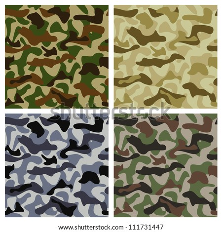 camouflage background of
