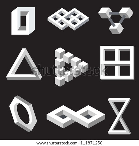 optical illusion symbols