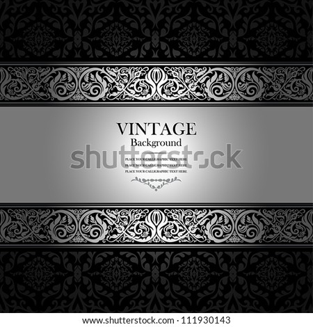 vintage background  antique
