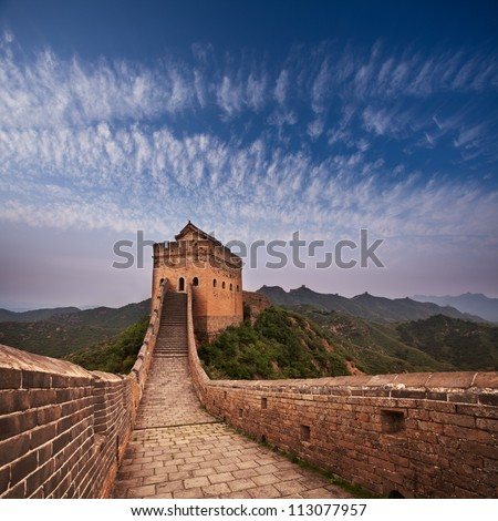 greatwall the landmark of china