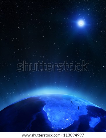 africa under moon elements of