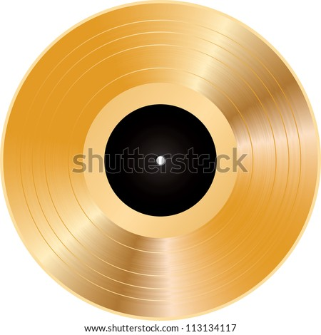 vector illustration of a golden