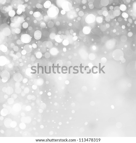 lights on grey background