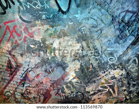 graffiti background  grunge
