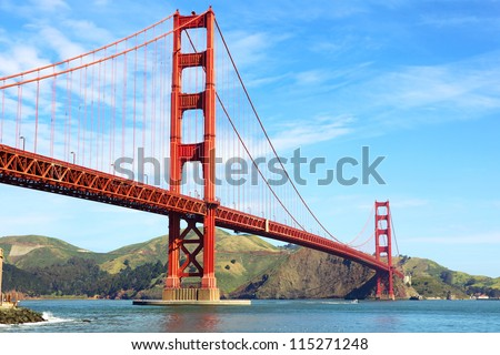 golden gate bridge in san