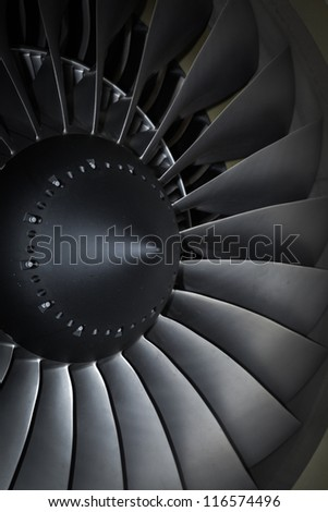 turbine blades jet engine