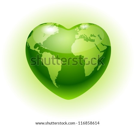 heart globeeco icon