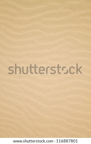 sand texturedented wave of the
