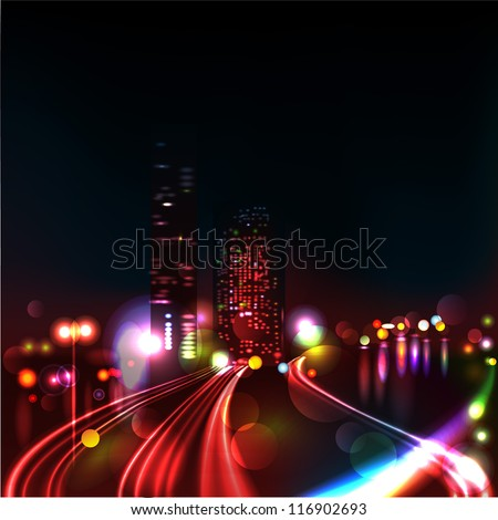 vector background blurred
