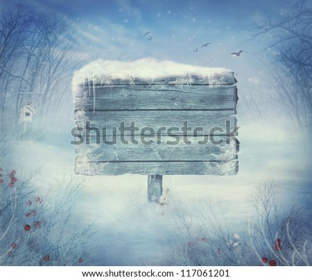 winter design background