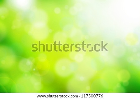 nature green abstract bokeh