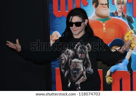 skrillex at the