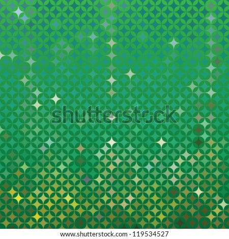 abstract green vector detailed