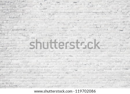white grunge brick wall