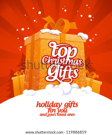 top christmas gifts design