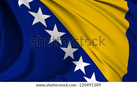 bosnia and herzegovina flag hi