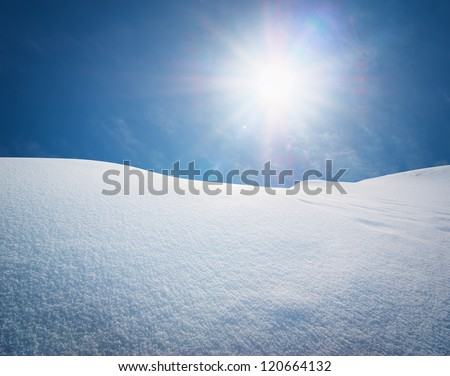 snow hills composition of