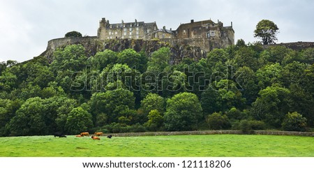 stirling castle  former