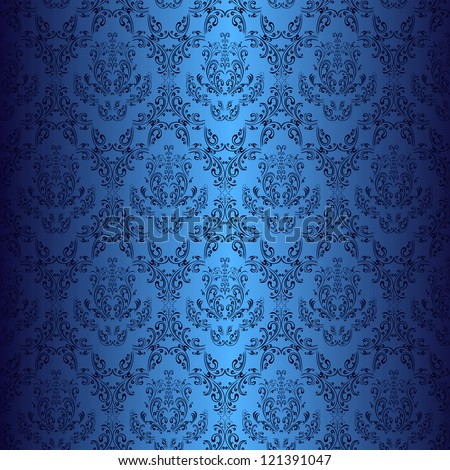 dark blue wallpaper in style