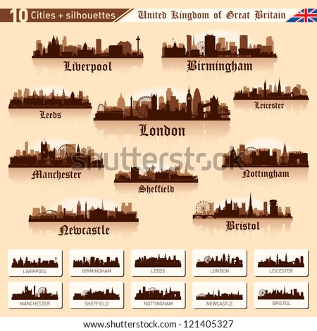 city skyline set great britain