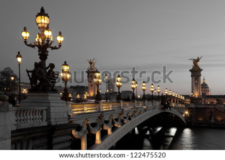 alexander iii bridge  paris