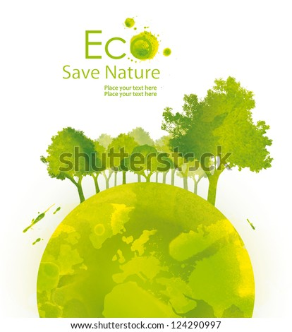 illustration environmentally
