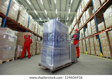 logistics   management of the