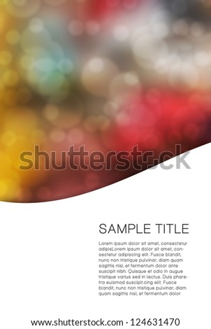 abstract colorfully background
