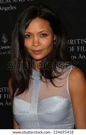 thandie newton at the bafta los