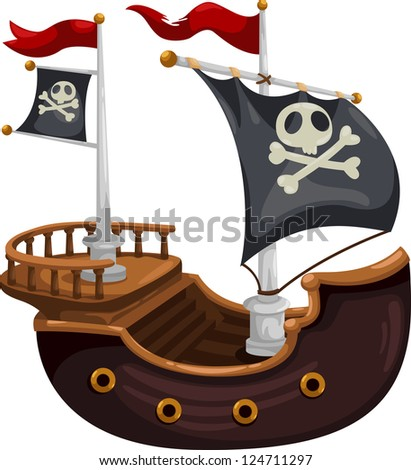 pirate shipjpg   eps vector id