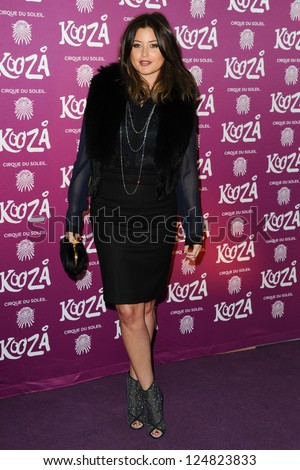 holly valance arrives for the