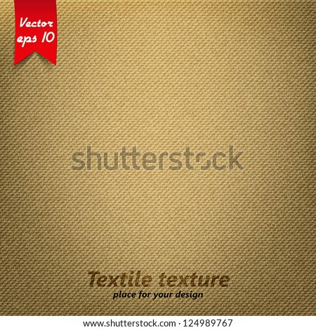brown fabric texture vector